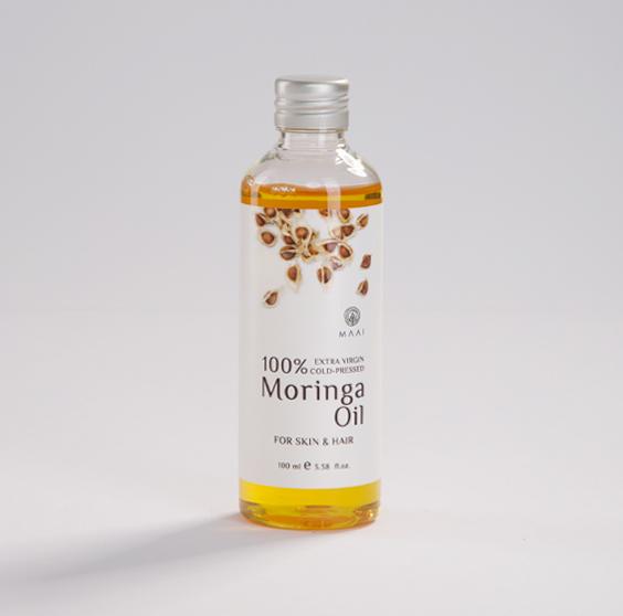 Maai 100% Extra Virgin Cold-Pressed Moringa Oil